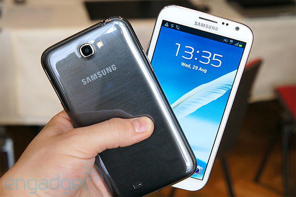 Samsung Galaxy Note II handson video