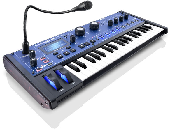 Novation launches MiniNova compact hardware synth with 'VocalTune' video