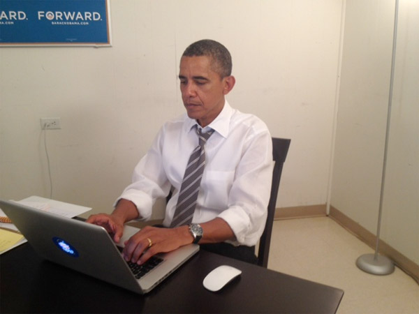 President Obama's doing an AMA on Reddit today, invites the people to pose their digital questions