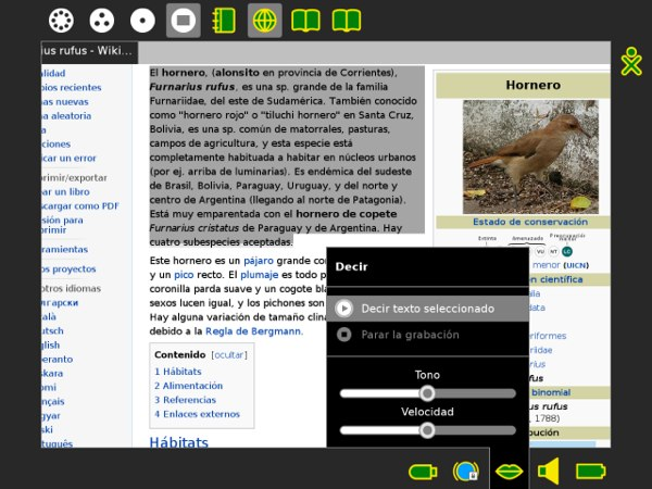 OLPC delivers big OS update with texttospeech, DisplayLink and WebKit