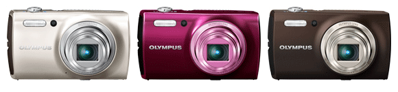 Olympus expands its pointandshoot offerings with two new Stylus models