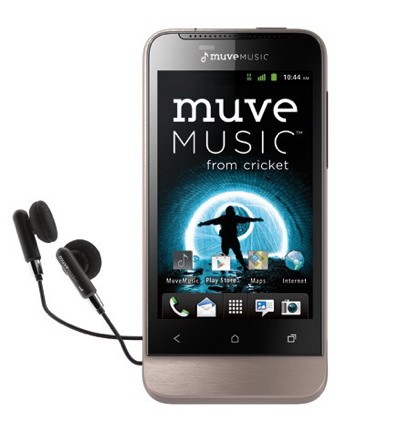 Cricket now including Muve Music on all new Android smartphone plans