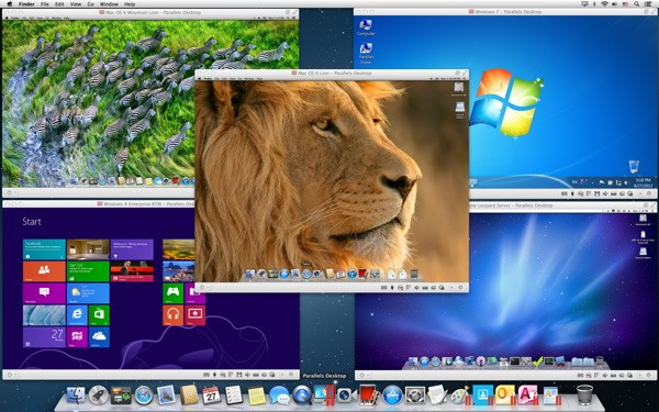 Parallels 8 for Mac Retina Support, Dictation, Instant switching and 30 percent faster performance