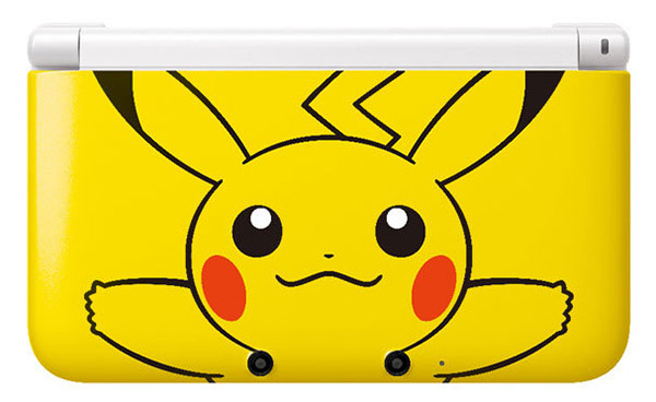 Pikachu Yellow 3DS LL to hit Japanese shores, require a pre-order for purchase
