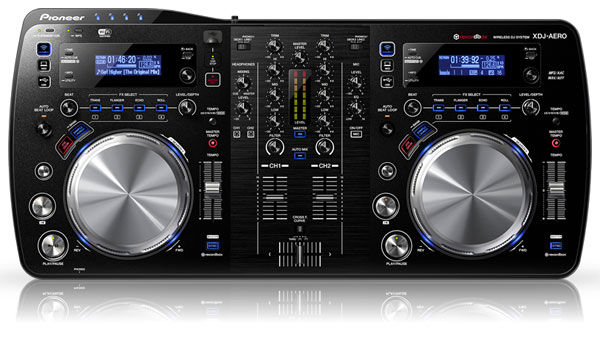 Pioneer's new XDJAERO controller says goodbye wires, hellow dancefloor