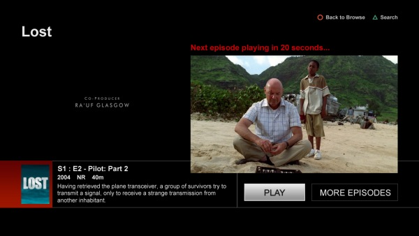 Netflix rolls out new 'postplay experience' on web player, PS3
