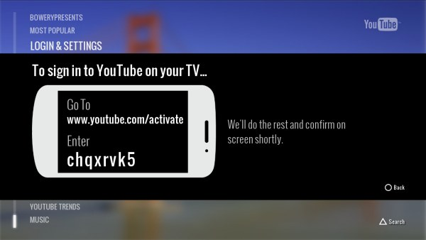 YouTube's new app for the PlayStation 3 rolling out, brings remote control from smartphones