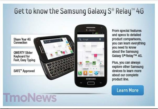 Samsung Galaxy S Blaze Q may be renamed to equally awkward Galaxy S Relay 4G