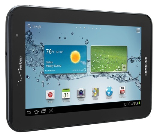 Samsung Galaxy Tab 2 70 packing 4G LTE comes to Verizon on August 17th