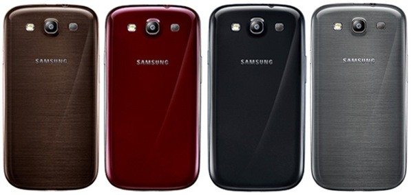 Samsung expands Galaxy S III colors yes, you can get brown