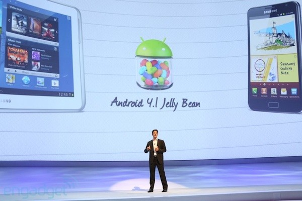 Samsung says Jelly Bean update coming to Galaxy S III and Note 101 'very soon'