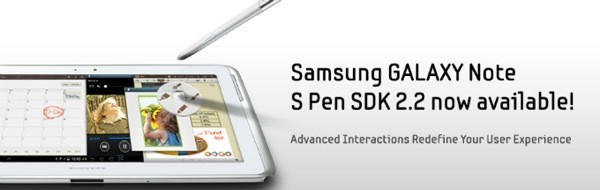 Samsung updates S Pen SDK to spread love for Galaxy Note II features