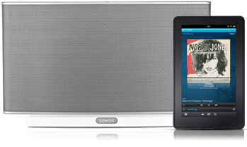 Amazon Cloud Player now lets you play content on any Sonos system, helps get the party started