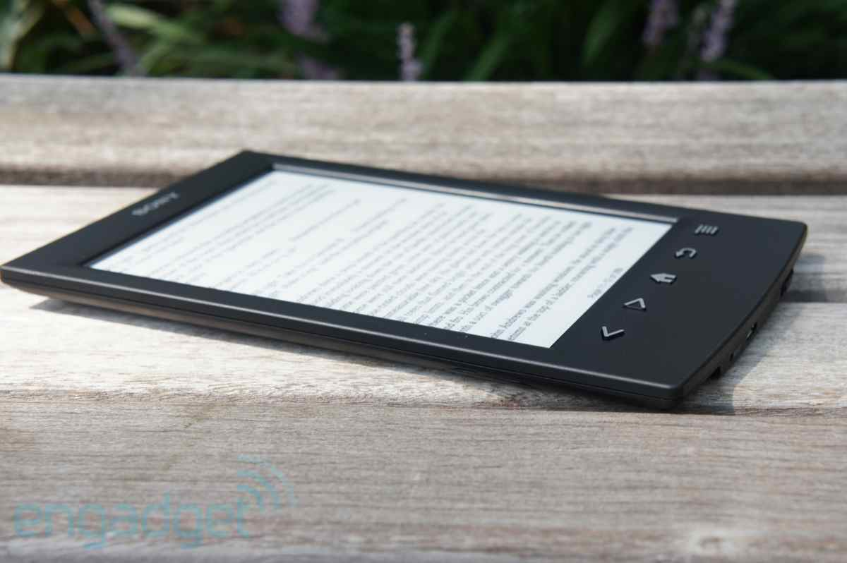 DNP Sony Reader PRST2 review