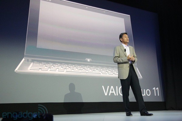 Sony unveils VAIO Duo 11 slideout tablet, Tap20 desktop and tablet hybrid