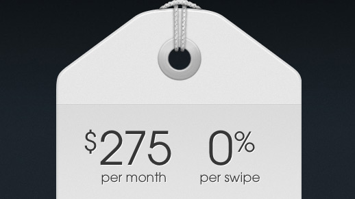 Square intros flatrate payment option for $  275 per month, hits small business sweet spot