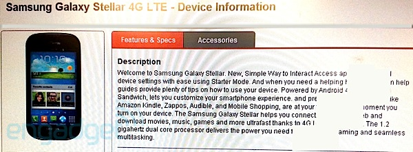More Samsung Galaxy Stellar details spill, September 6th launch appears likely