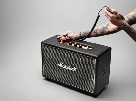 Marshall's Hanwell HiFi speaker is bred from guitar amps, at-home with your PMP