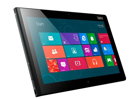 Lenovo ThinkPad Tablet 2 official Windows 8, NFC, a fingerprint reader and an optional keyboard