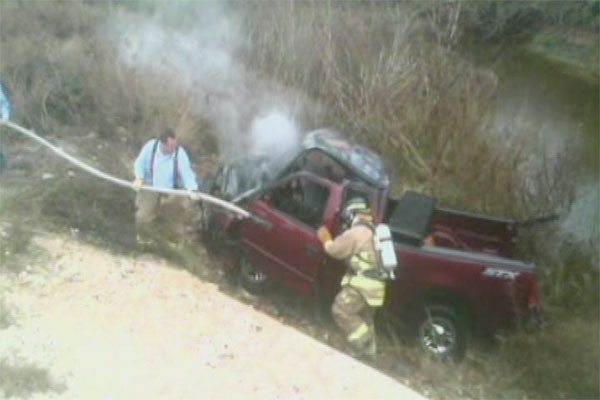 Texas man foretells dire outcome messages 'I need to quit texting,' before driving into ravine