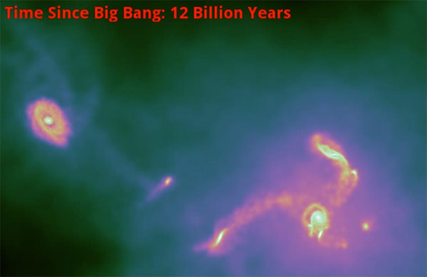 Scientists create simulation of the universe, reenact 14 billion years in a few months