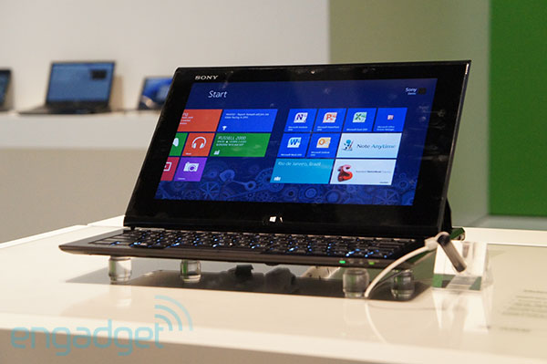 Sony&#8217;s VAIO Duo 11 Windows 8 slider goes on sale this month, starts at $1,100