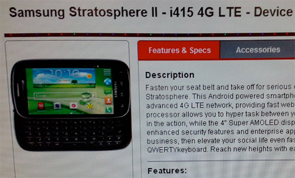 Samsung Stratosphere II flaunts its keyboard for Verizon, LG Spectrum 2 confirmed as VS930 