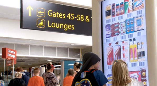 Supermarket launches trial virtual store in UK airport, ensures you've got fresh milk after your trip