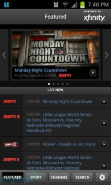 WatchESPN Android app update finally brings access for Comcast subscribers