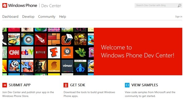 Microsoft opens Windows Phone Dev Center, limits inapp purchases to Windows Phone 8
