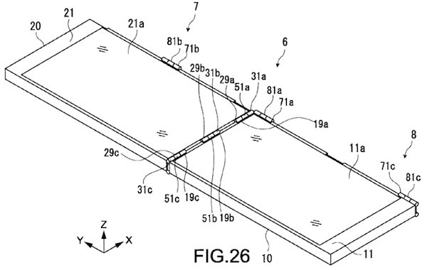 Sony patents a twoway folding device, wants you to have extra screen real estate where you need it