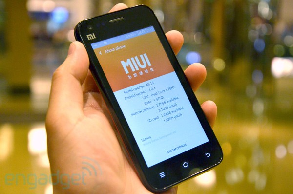 Xiaomi Phone 1S hands-on