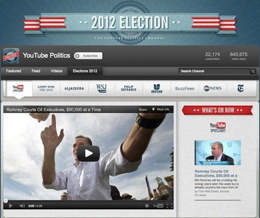 YouTube's Elections Hub is a onestop channel for the latest US political happenings