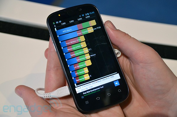 Handson with the Medfieldpacking ZTE Grand X IN smartphone video