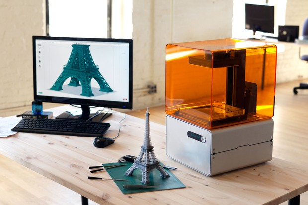 3-D printing the Eiffel Tower