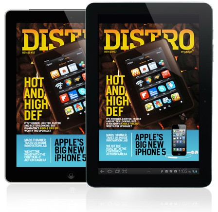 Distro Issue 57 Kindle Fire HD, iPhone 5 and Innovation Lab's Mads Thimmer