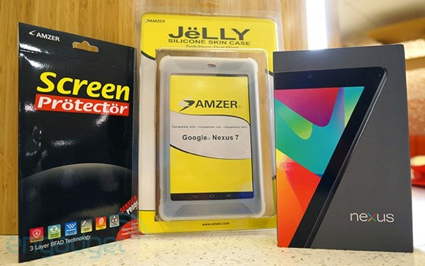 Engadget Giveaway win a Nexus 7, courtesy of Amzer!