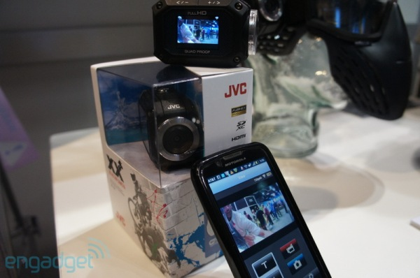 JVC's $349 ADIXXION camcorder is shipping now, packs LCD, WiFi and live Ustreaming handson