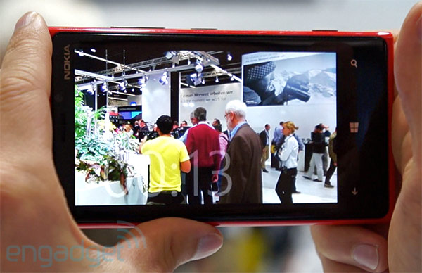 Nokia Lumia 920 makes PureView appearance at Photokina with antishake video demo video