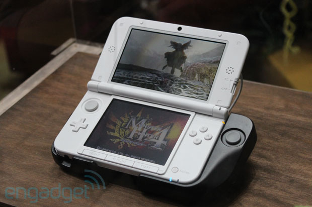 Circle Pad Pro for 3DS XL spotted at TGS, we go handson video  