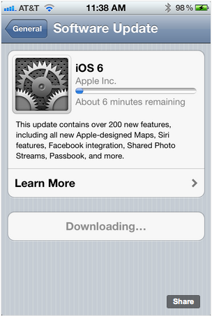 ios6 now available download