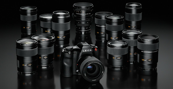 Leica reveals SSystem medium format digital photography lineup