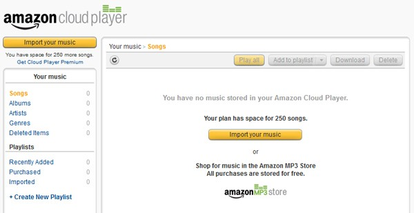 Amazon brings Cloud Player music service to the UK: choice of free or premium tiers from 6 per year