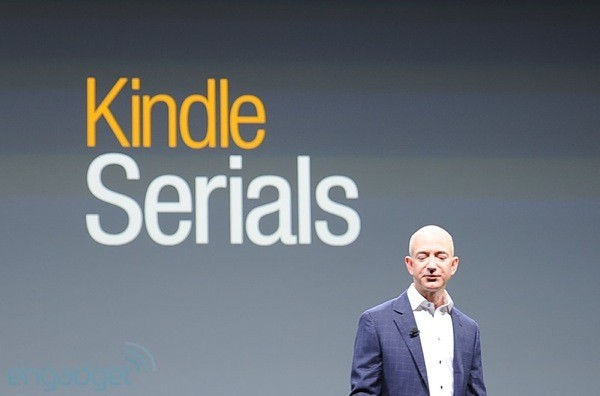 Amazon intros Kindle Serials buy once, get them all