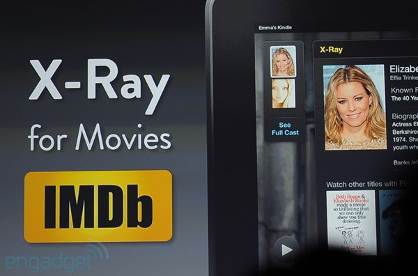 Amazon announces XRay for movies, a Kindle feature that names the actors for you 