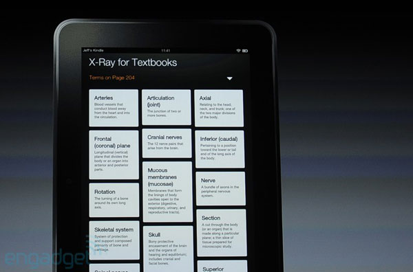 Amazon outs Xray for Textbooks, 'smart glossary' for all your learning needs