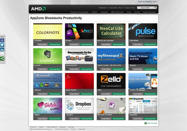 BlueStacks teams with AMD to optimize its Android App Player for AMD chips video