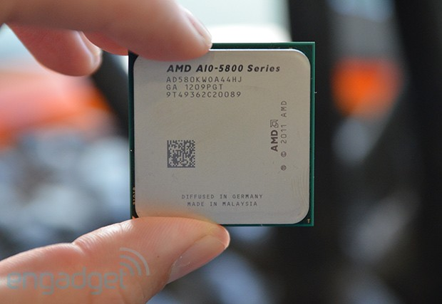 AMD to release Trinity desktop chips next week, promises Core i5 power for a Core i3 priceBeing the industry underdog means youre always in need of a punchy pitch Fortunately, the marketing around AMDs latest processors the longawaited Trinity APUs for desktop PCs is brutally simple For something like the cost of an Ivy Bridge Core i3, you can get an overclockable A105800K that, were told, belongs in the same weight category as an Ivy Bridge Core i5 with HD4000 integrated graphics In other words, and although exact pricing wont be revealed until the full stack of A10, A8 and A6 processors hit shelves next week, buyers of lowpower PCs like allinones and HTPCs could potentially save around $  xx by going with AMD instead of Intel Such a claim just cries out to be tested, which is exactly what we try to do in the video after the break albeit under the auspices of AMD and solely in relation to the game Sleeping Dogs The upshot of the video is that the A10 runs that title at medium settings and 16x10 resolution at almost 30 fps Throw in some conservative GPU and memory overclocking while sticking with the stock cooler and chip will readily stretch to 1920 x 1080 at 37 fps By contrast, an Ivy Bridge Core i5 struggles to get beyond slowmo 10 fps, and of course you cant overclock it without spending extra on unlocked K variant of the chip something AMD sells at no premium whatsoever But thats just one game and moreover one game on a chip that isn't especially targetted at gaming so much as allround entertainment and productivity ie the kinds of customers who don't want to spend $  100 extra on a discrete graphics card We need full benchmarks covering more scenarios and general computing performance, and a number of specialist sites will be releasing such data today see the More Coverage links below, with fuller reviews following on October 2nd at which point well do our regular review roundup