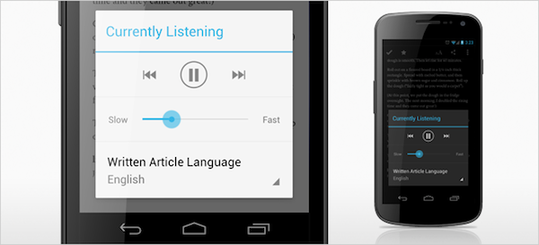Pocket for Android gets updated with texttospeech feature, minor UI improvements