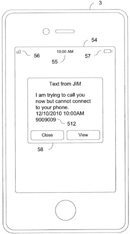 Apple patent application has iPhones text when calls don't reach spotty coverage areas